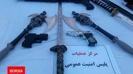 دستگیری عاملان فروش سلاح در فضای مجازی