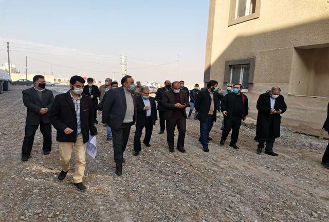 بازدید مسئولان اصناف کشور از ۳۵۲ واحد مسکونی در حال ساخت برای مددجویان تهرانی