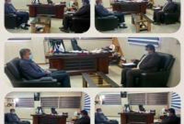 دیدار نماینده مردم هرمزگان با مدیرکل ورزش و جوانان استان