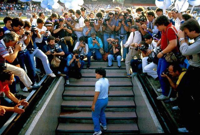 ۵۰۰ ساعت فیلم شخصی مارادونا در ایران