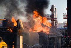 آتش سوزی در پالایشگاه تهران مهار شد/یک نفر فوت کرد