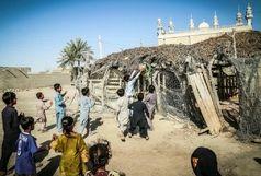 عکس جنجالی بازی بستکبال کودکان سیستان و بلوچستان