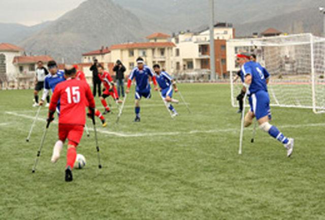 قهرمانی فارس در رقابتهای فوتبال قطع عضو