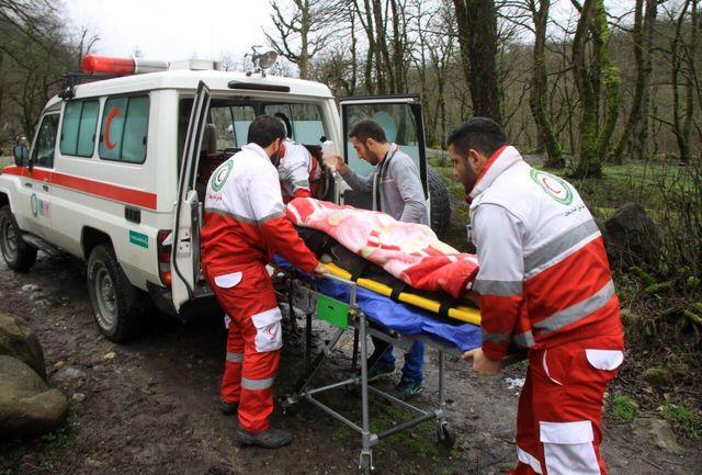 ۲۶۴ حادثهدیده در ۷۲ ساعت گذشته توسط هلال احمر امدادرسانی شدند