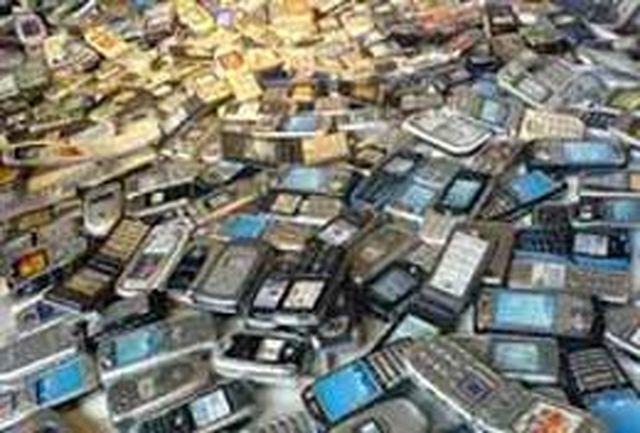 محموله میلیاردی گوشی های قاچاق در ارومیه کشف شد