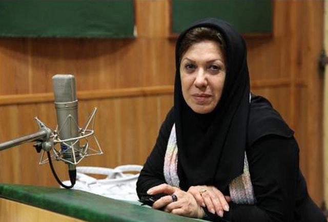 حرفهای زهره شکوفنده در مراسم تشییع پیکر حسین عرفانی/ ببینید