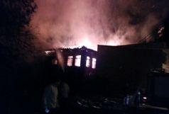 آتش گرفتن بنای تاریخی در املش