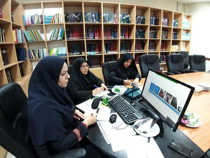 سومین جلسه ویدئو کنفرانس با مشاور وزیر آموزش و پرورش در امور زنان تشکیل شد