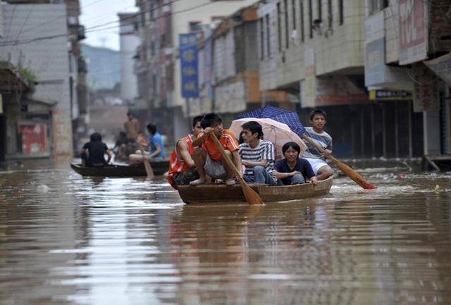 سیلاب مرگبار در چین