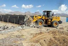رفع تصرف بیش از 3 هزار متر مربع از اراضی ملی و دولتی شهر مهران