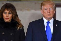 سرفه کار دست ملانیا ترامپ داد