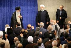 مسئولان و کارگزاران نظام با رهبر انقلاب دیدار کردند