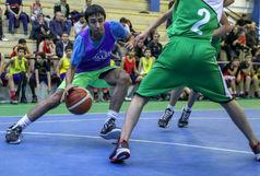 دور برگشت مسابقات لیگ بسکتبال نوجوانان کشور در سنندج آغاز شد