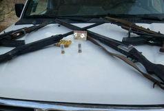 دستگیری یک گروه شکارچی متخلف در زابل