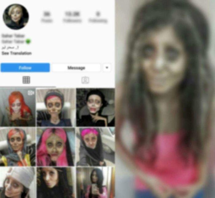 سحر تبر ،کاربر مشهور اینستاگرامی بازداشت شد