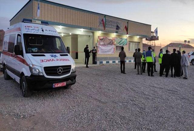 بهره برداری از 3 پایگاه اورژانس تا پایان خردادماه در استان همدان