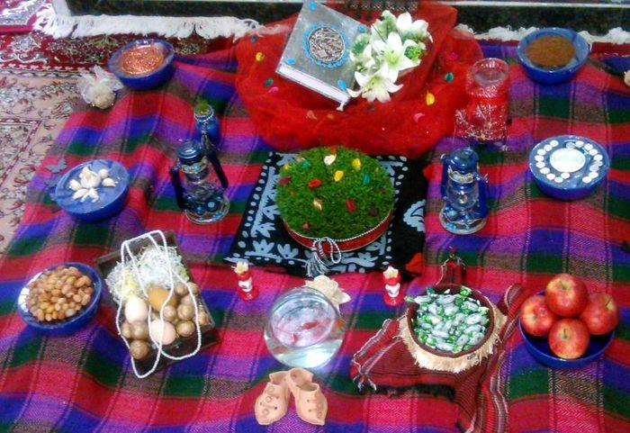 منظری به برخی از رسومات عید نوروز در بالاگریوه  لرستان