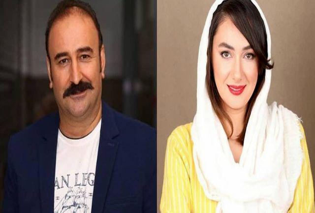 مهران احمدی و هانیه توسلی همبازی شدند