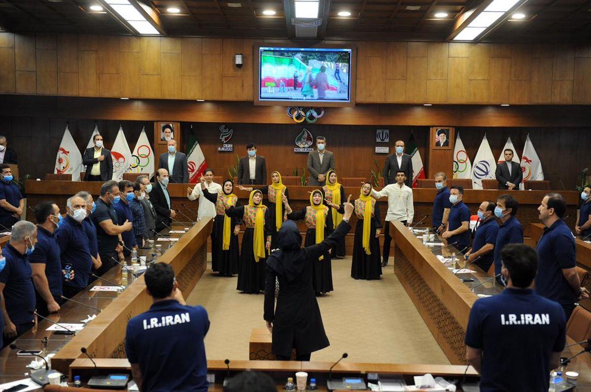 برگزاری مراسم بدرقه کاروان کشتی آزاد و فرنگی ناشنوایان