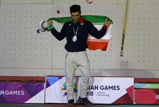 وقتی رشته سنگنوردی را انتخاب کردم، 95 درصد مردم میگفتند موفق نمیشوم/ در تاریخ ورزش ایران هیچ ورزشکاری نتوانسته بود رکورددار دنیا شود/ جای سنگنوردی در المپیک خالی است