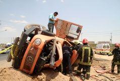 تصادف وحشتناک دو کامیون در خراسان/آخرین آمار جان باختگان و مصدومین اعلام شد