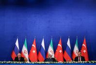 نشست خبری روسای جمهوری ایران٬ ترکیه و روسیه
