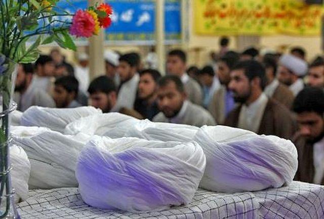 برگزاری مراسم عمامهگذاری طلاب حوزه علمیه قشم در هفته وحدت