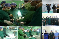 انجام عمل جراحی برداشت مری به روش توراکوسکوپی در بیمارستان افضلی پور کرمان