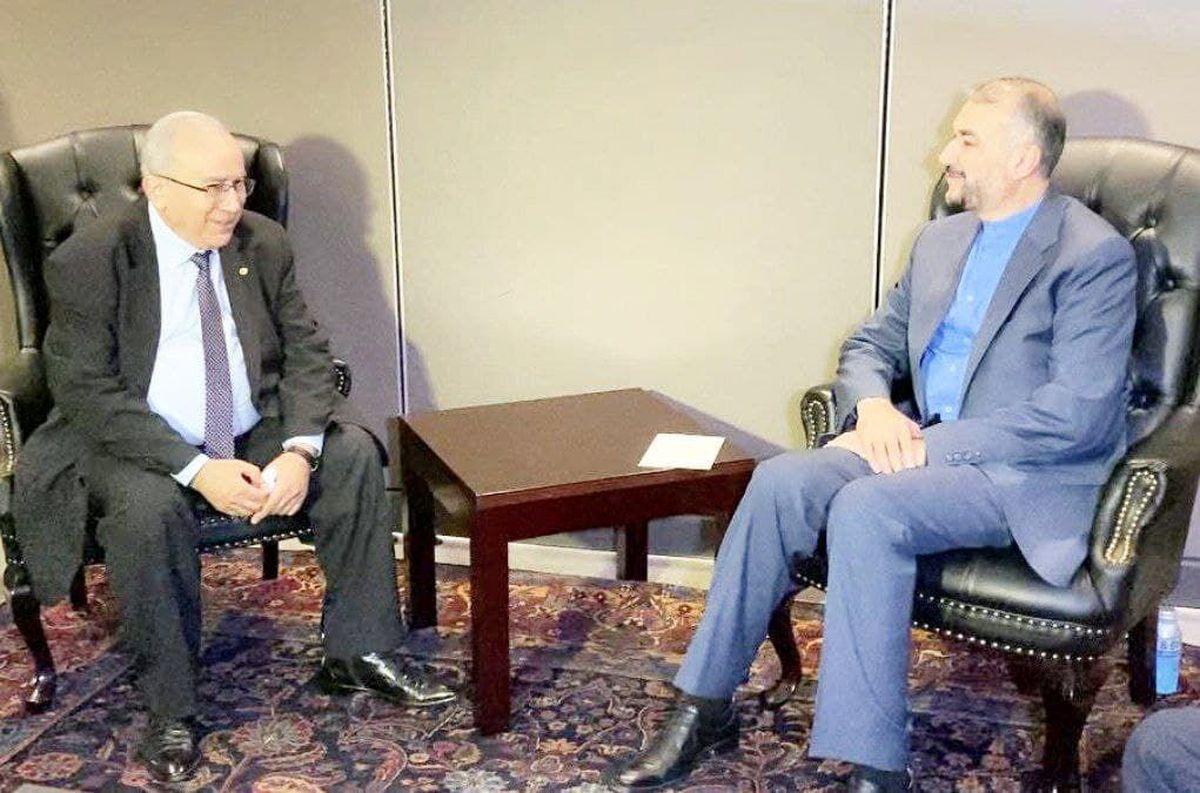 وزیر خارجه بر لزوم اجرایی شدن توافقات ایران و الجزایر تأکید کرد