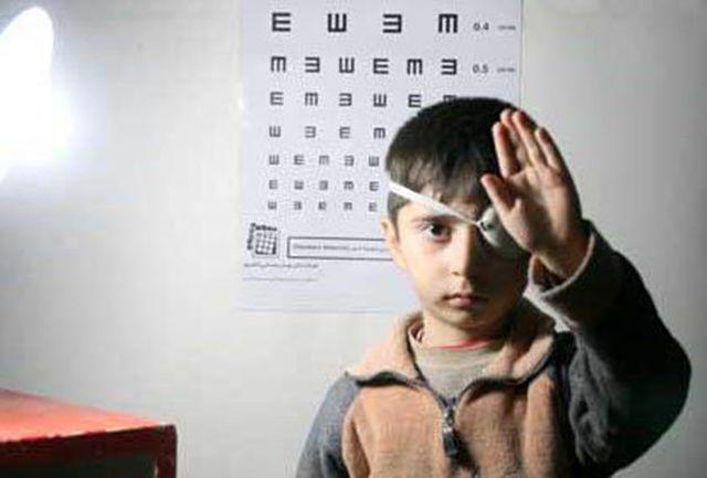 اجرای طرح پیشگیری از تنبلی چشم کودکان در 46 پایگاه شادگان