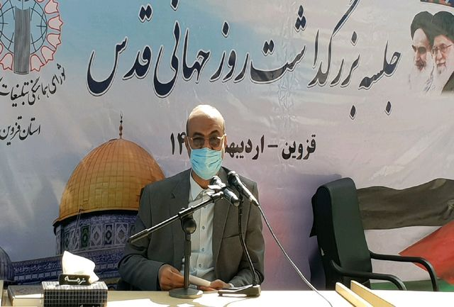 روز قدس کابوس رژیم صهیونیستی و زلزله اسراییل است
