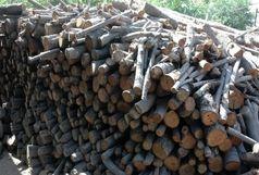 کشف 8 تن چوب قاچاق در فومن