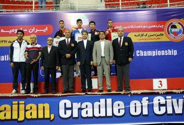 پایان روز نخست مسابقات بینالمللی کاراته ارومیه