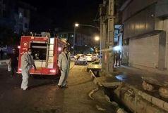 آغاز مجدد عملیات ضدعفونی معابر شهر قدس در پی افزایش موج شیوع کرونا