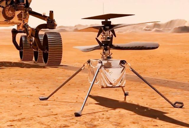 تاریخ اولین پرواز هلیکوپتر «نبوغ» در مریخ مشخص شد