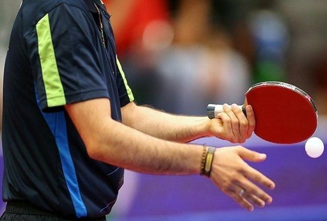 اعلام اسامی نفرات دعوت شده به مسابقات انتخابی تیمهای ملی تنیس روی میز