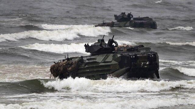 در یک مانور نظامی 8 نفر ناپدید شدند