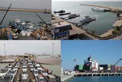 صادرات غیر نفتی از بنادر قشم هشت برابر شد