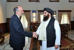 اولین دیدار رسمی سفیر ایران و وزیر خارجه دولت طالبان