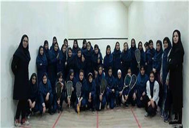 جشنواره استعداد یابی اسکواش دختران