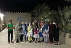 حضور گردشگران سویسی و بلژیکی در سیستان و بلوچستان
