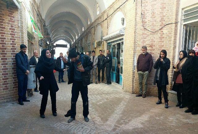 اجرای نمایش های خیابانی اولین هفته قرآن و عترت