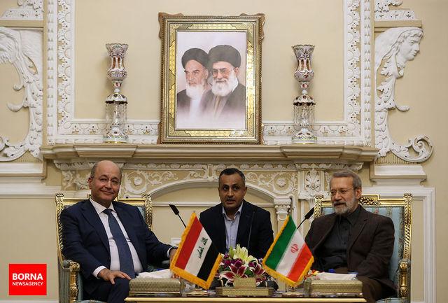 بدخواهان نتوانستند عراق جدید را ناکام بگذارند/ رئیس جمهور عراق: صدور روادید برای تجار ایرانی لغو میشود