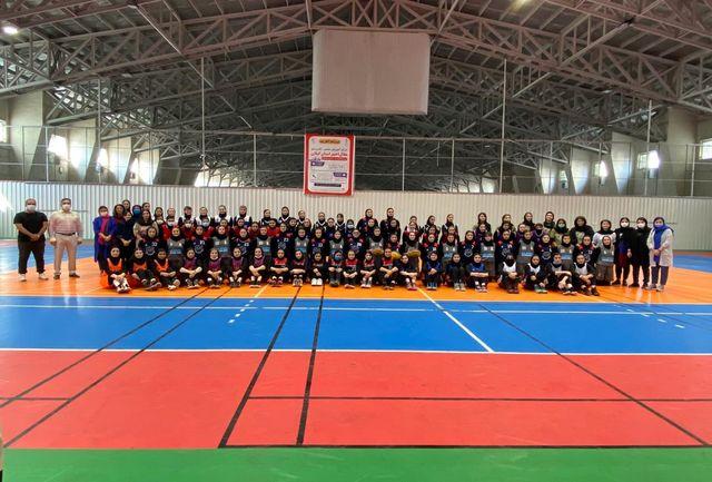 مسابقات بسکتبال سه نفره بانوان گیلان برگزار شد