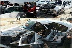 10 کشته و مصدوم در سانحه برخورد دو دستگاه پراید/اسامی حادثه دیدگان محور خرمشهر به اهواز