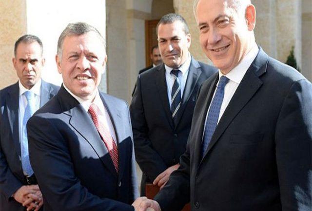 هدیه نتانیاهو به پادشاه اردن/ ببینید