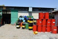 کشف ۷ میلیارد ریال روغن موتور قاچاق در ارومیه