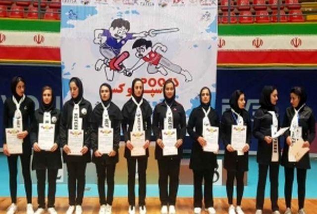 درخشش بانوان یزدی در مسابقات اسپوکس قهرمانی کشور انتخابی تیم ملی