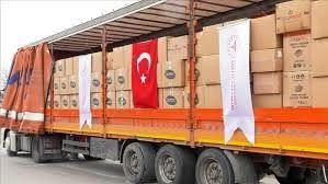 اقلام بهداشتی اهدایی ترکیه به ایران رسید