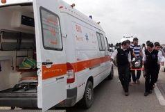 ۱۷ زخمی و ۴ فوتی در حادثه واژگونی اتوبوس کارمندان پالایشگاه اصفهان